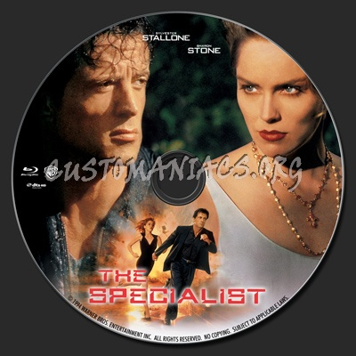 The Specialist 1994 Blu Ray Label Dvd Covers Labels By Customaniacs Id 144970 Free Download Highres Blu Ray Label