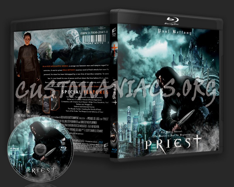 Priest blu-ray cover