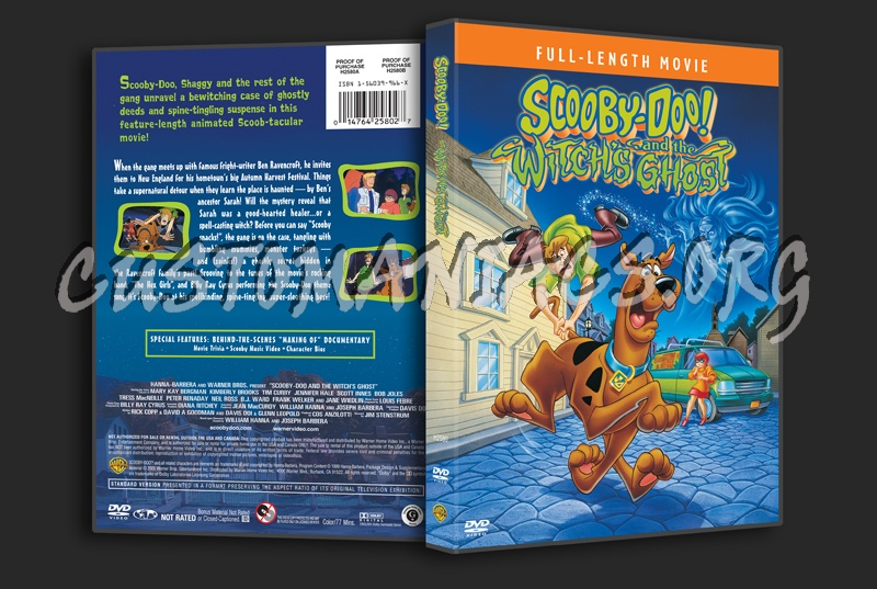 Scooby Doo And The Witch S Ghost Dvd Cover Dvd Covers Labels By Customaniacs Id 145007 Free Download Highres Dvd Cover