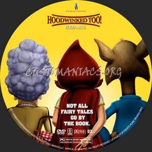 Hoodwinked Too! Hood vs Evil dvd label