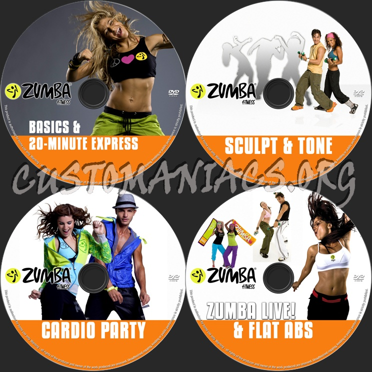 zumba fitness dvd label dvd covers labels by customaniacs id 145066 free download highres. Black Bedroom Furniture Sets. Home Design Ideas