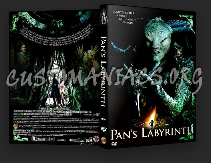 Pan\'s Labyrinth dvd cover