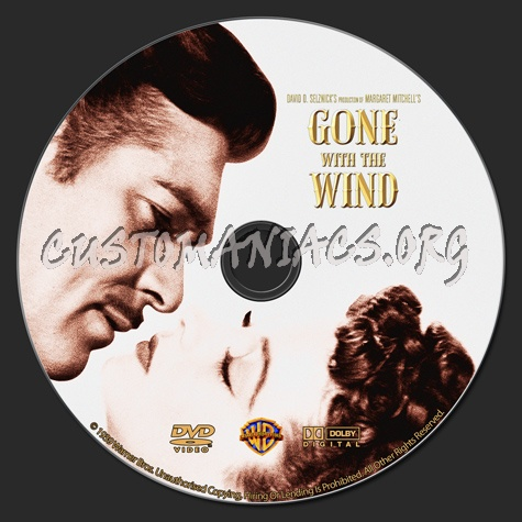 Gone with the wind dvd label dvd covers labels by customaniacs id 145094 free download - Gone with the wind download ...