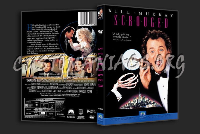Scrooged dvd cover