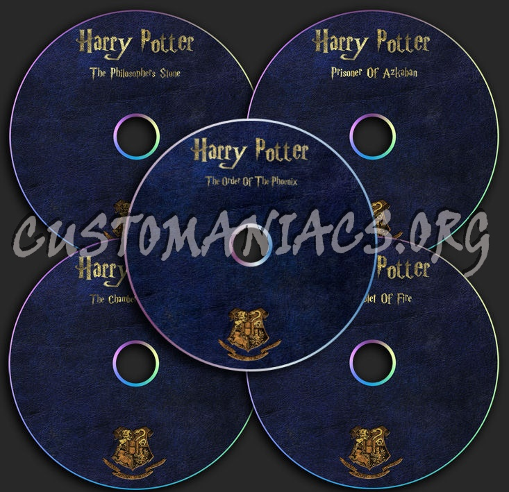 Harry Potter Collection dvd label