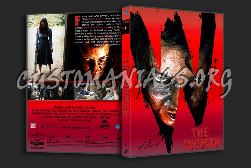 The Woman dvd cover