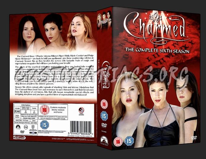 Charmed - Season 6 dvd cover