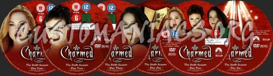Charmed - Season 6 dvd label