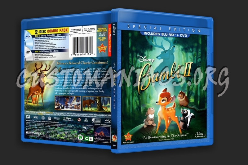Bambi 2 blu-ray cover - DVD Covers & Labels by Customaniacs