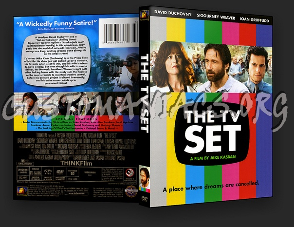 The TV Set dvd cover