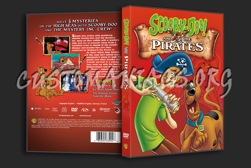 Scooby-Doo! and the Pirates dvd cover