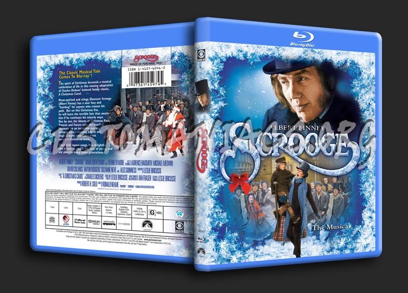 Scrooge blu-ray cover