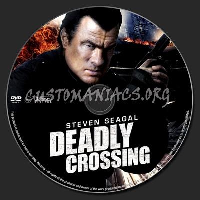 Deadly Crossing dvd label