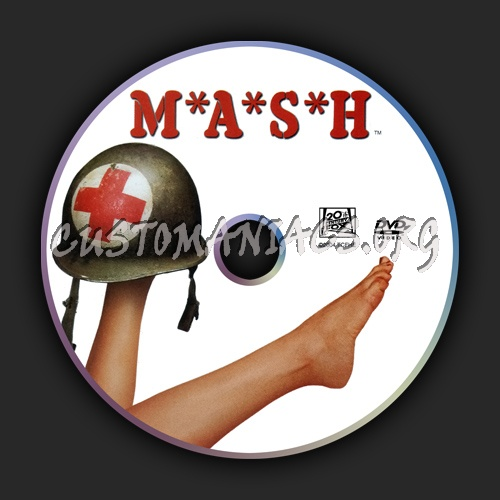 Mash or M*A*S*H dvd label