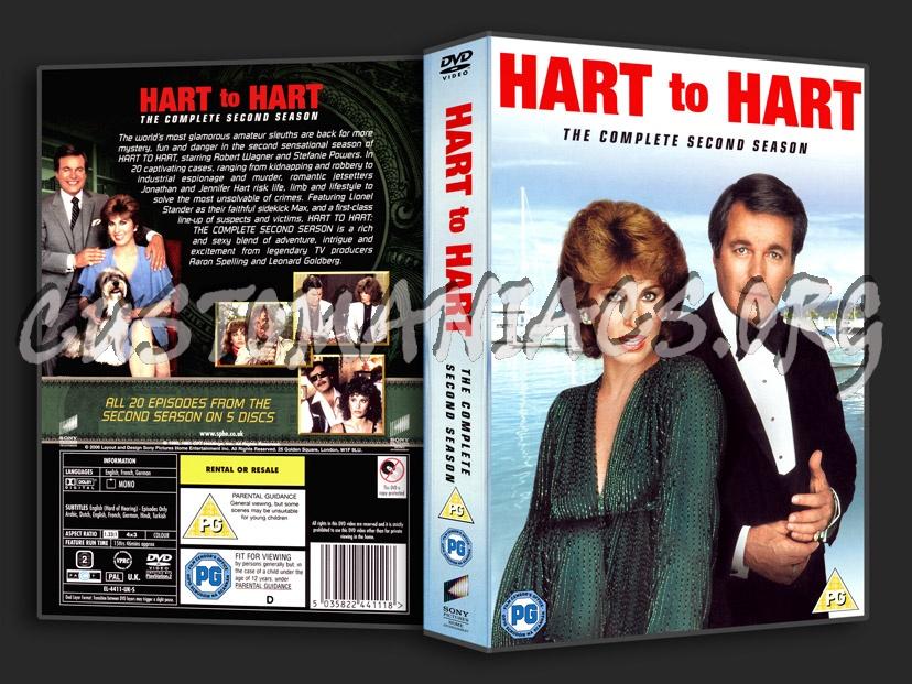 Hart to Hart Season 2 dvd cover