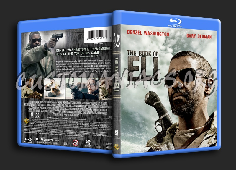 The Book of Eli blu-ray cover