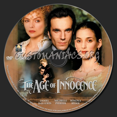 The Age of Innocence dvd label
