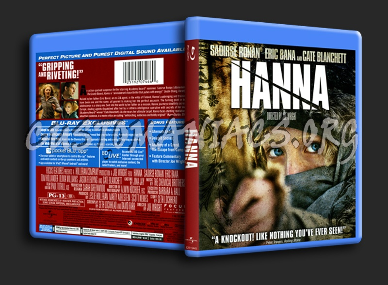 Hanna blu-ray cover