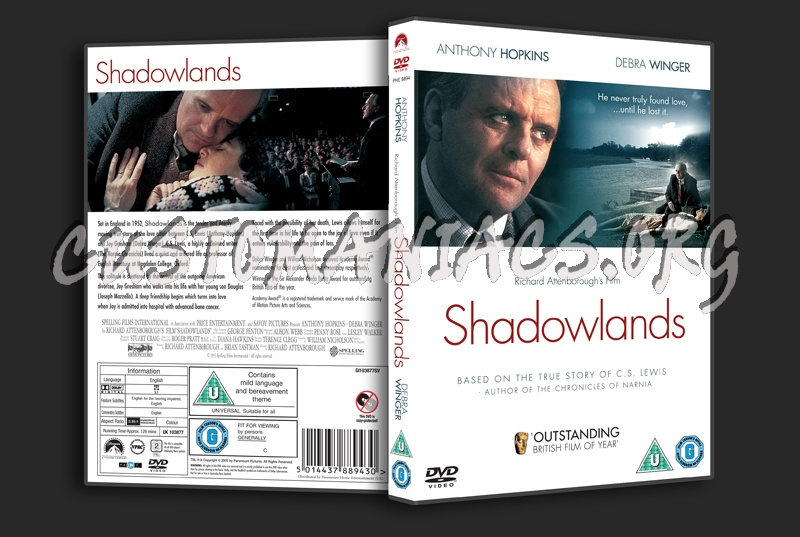 Shadowlands dvd cover