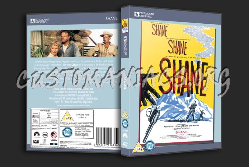 Shane dvd cover