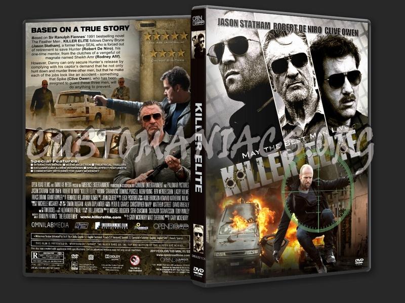 Killer Elite (2011) dvd cover