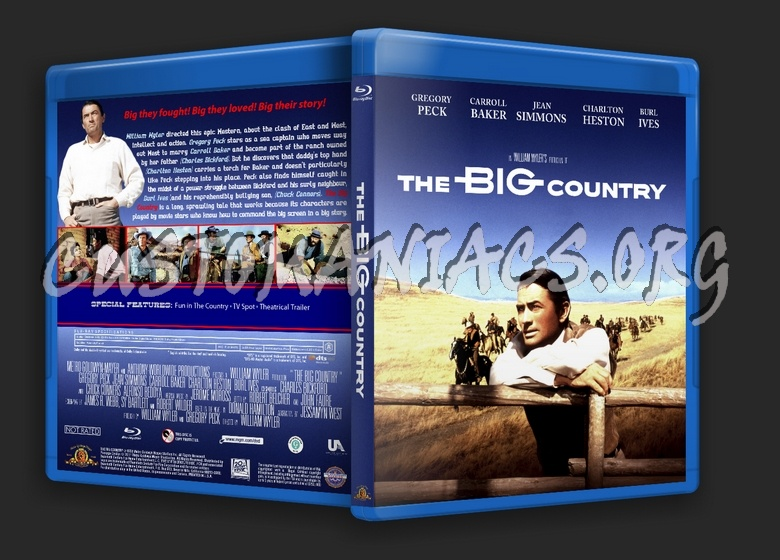 The Big Country blu-ray cover - DVD Covers & Labels by ...