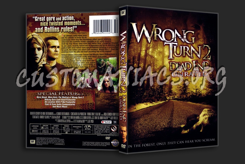 Wrong Turn 2 dvd cover
