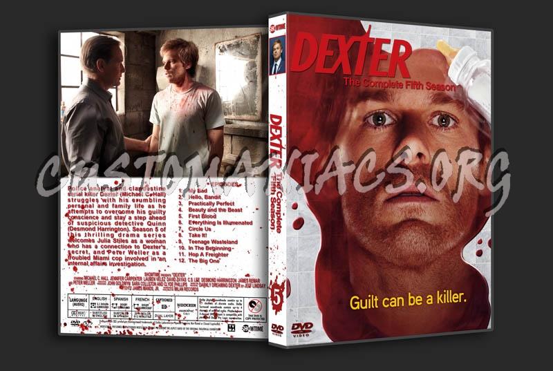 Dexter: Season 5 dvd cover