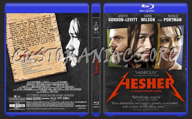 Hesher blu-ray cover
