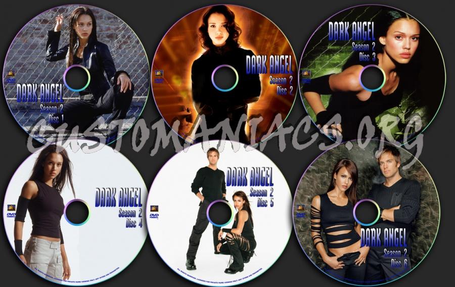 Dark Angel Season 2 dvd label