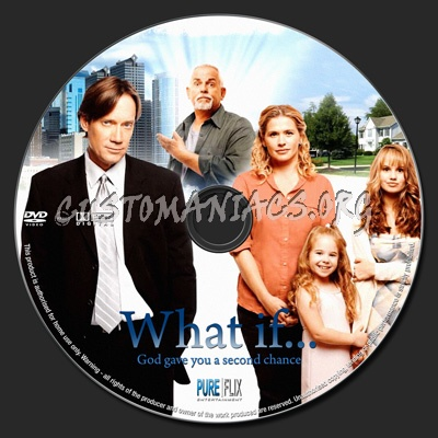 What If... dvd label