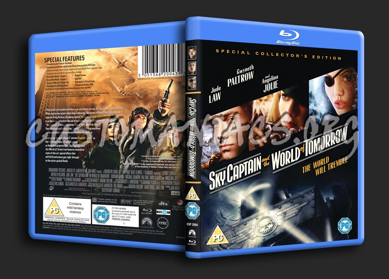 Sky Captain and the World of Tomorrow blu-ray cover