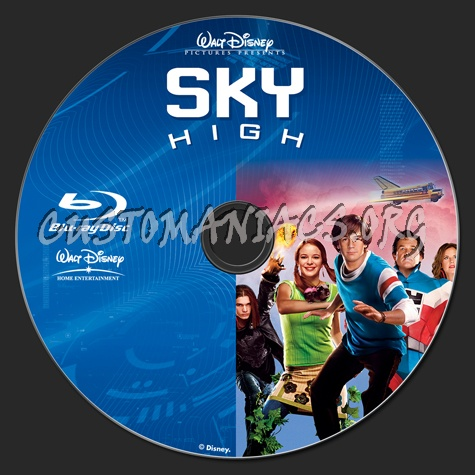 Sky High blu-ray label