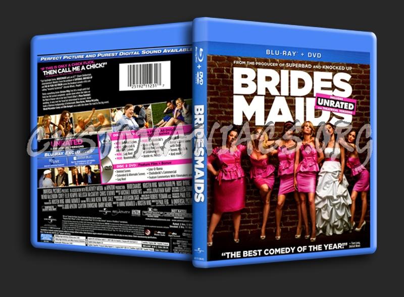 Bridesmaids blu-ray cover