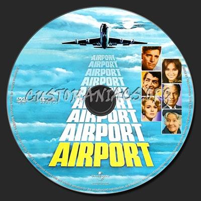 Airport dvd label