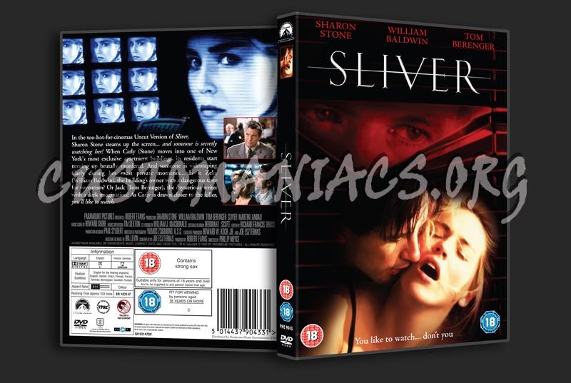 Sliver dvd cover
