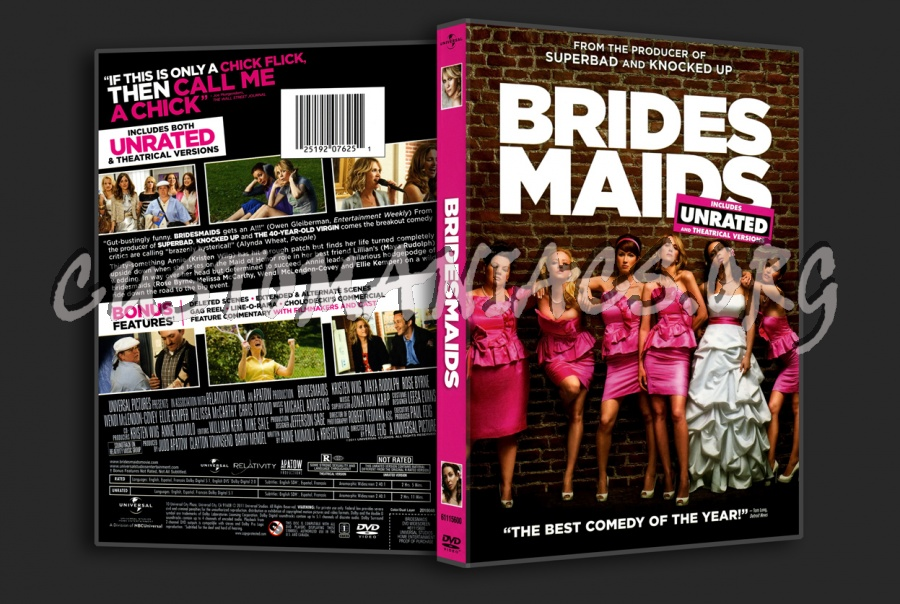 Bridesmaids dvd cover