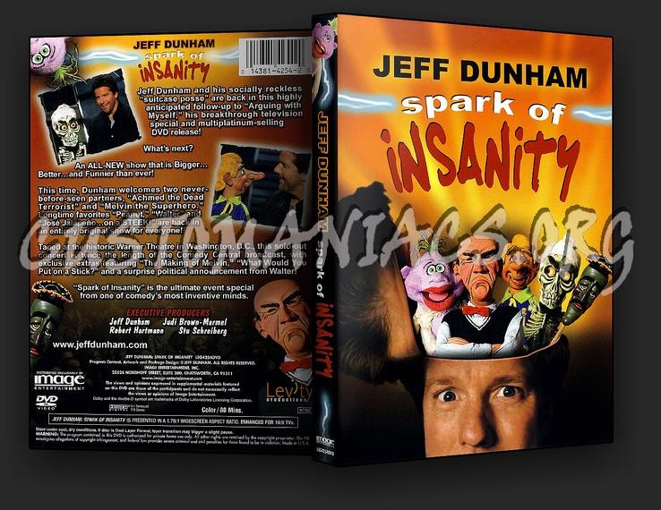 Jeff Dunham - Spark Of Insanity dvd cover