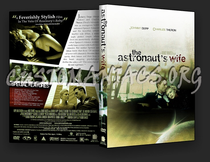 The Astronaut's Wife dvd cover - DVD Covers & Labels by ...