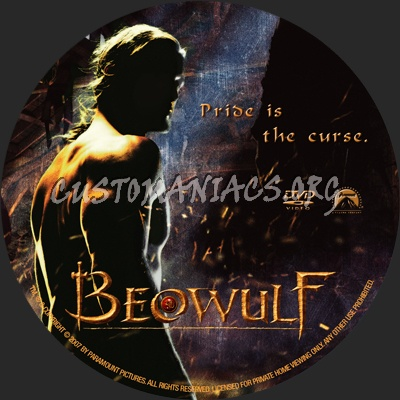 Beowulf dvd label