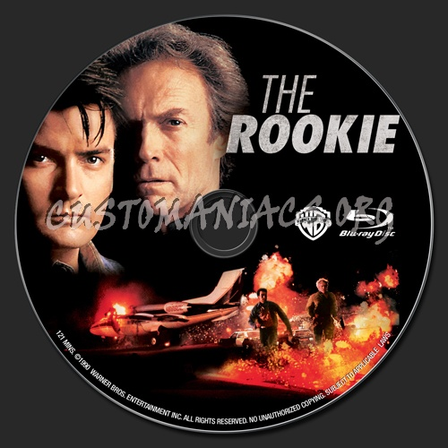 The Rookie blu-ray label