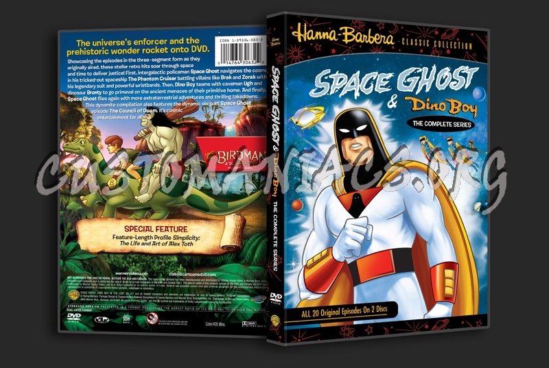 Space Ghost & Dino Boy dvd cover