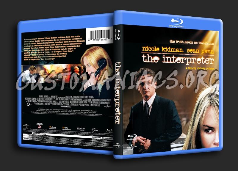 The Interpreter blu-ray cover