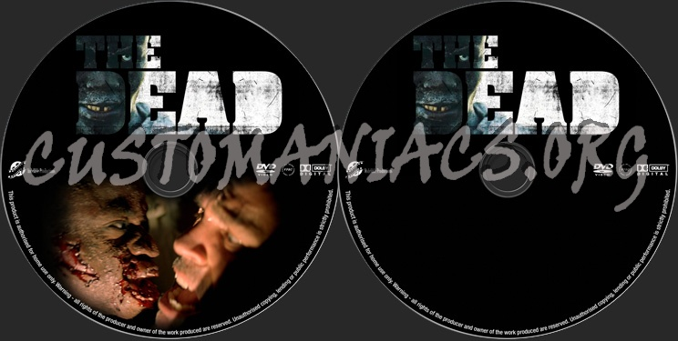 The Dead dvd label