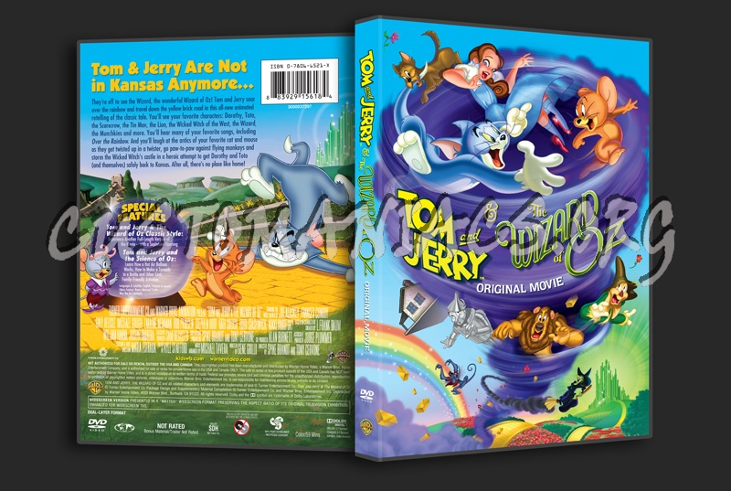 Tom And Jerry Wizard Of Oz Dvd Tom & Jerry & t...