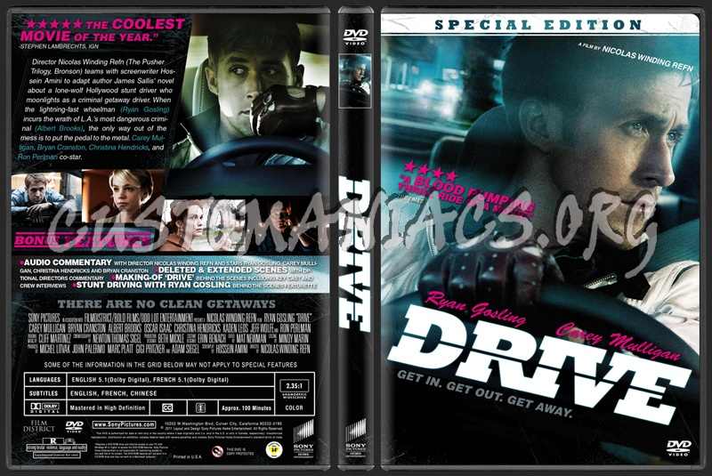 Drive dvd cover
