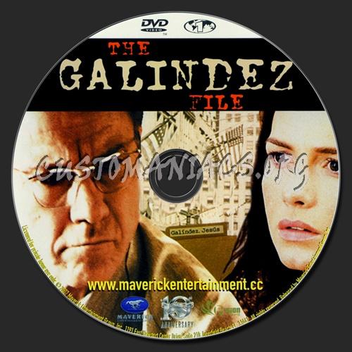 The Galindez File dvd label