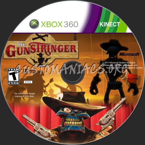 the gunstringer dvd label share this link gunstringer custom label