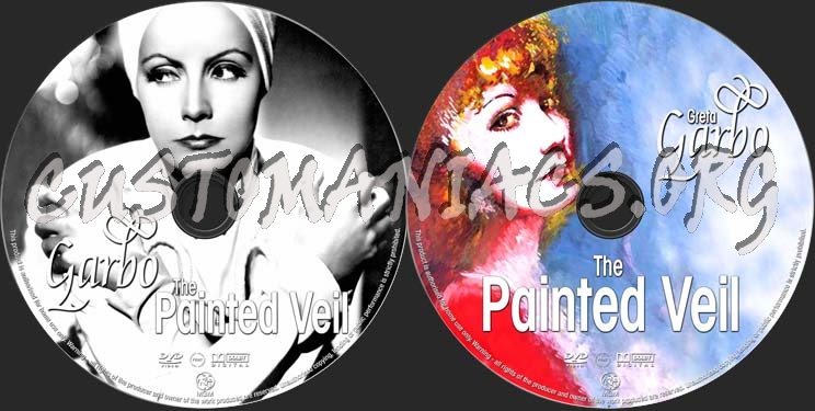 The Painted Veil dvd label