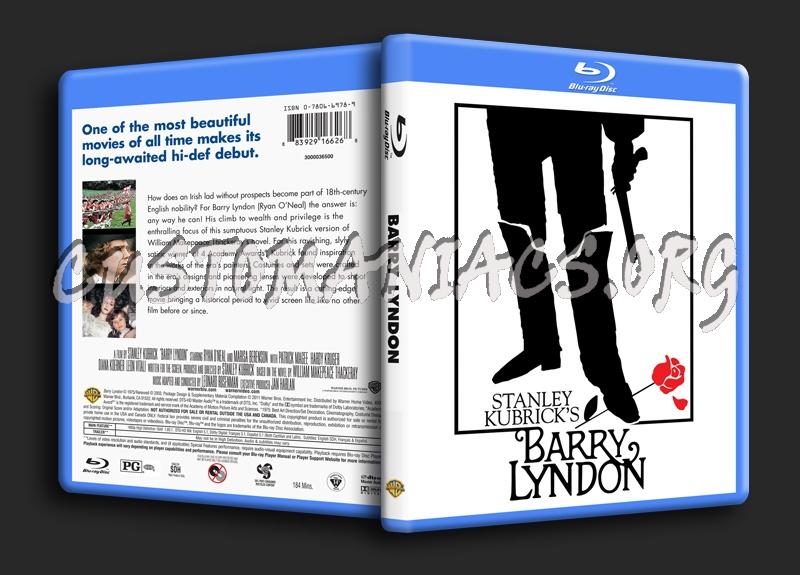 Barry Lyndon blu-ray cover